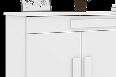 Buffet Rubi Branco - RV Móveis