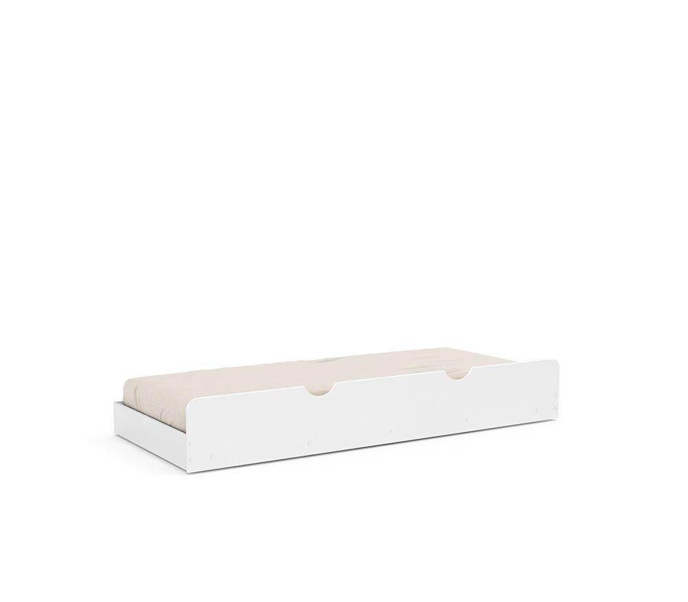 ce61f9d38 ... Cama Babá Provence Branco Soft com Auxiliar e Capitonê - Matic Móveis  ...