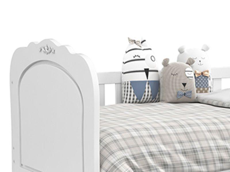 ea8e96699 ... Cama Babá Provence Branco Soft - Matic Móveis ...