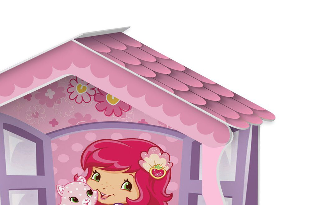 53250db29a Cama Casa Solteiro Moranguinho - J A Móveis