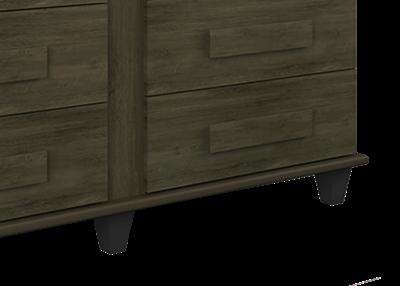 Comoda Geórgia Imbuia - RV Móveis