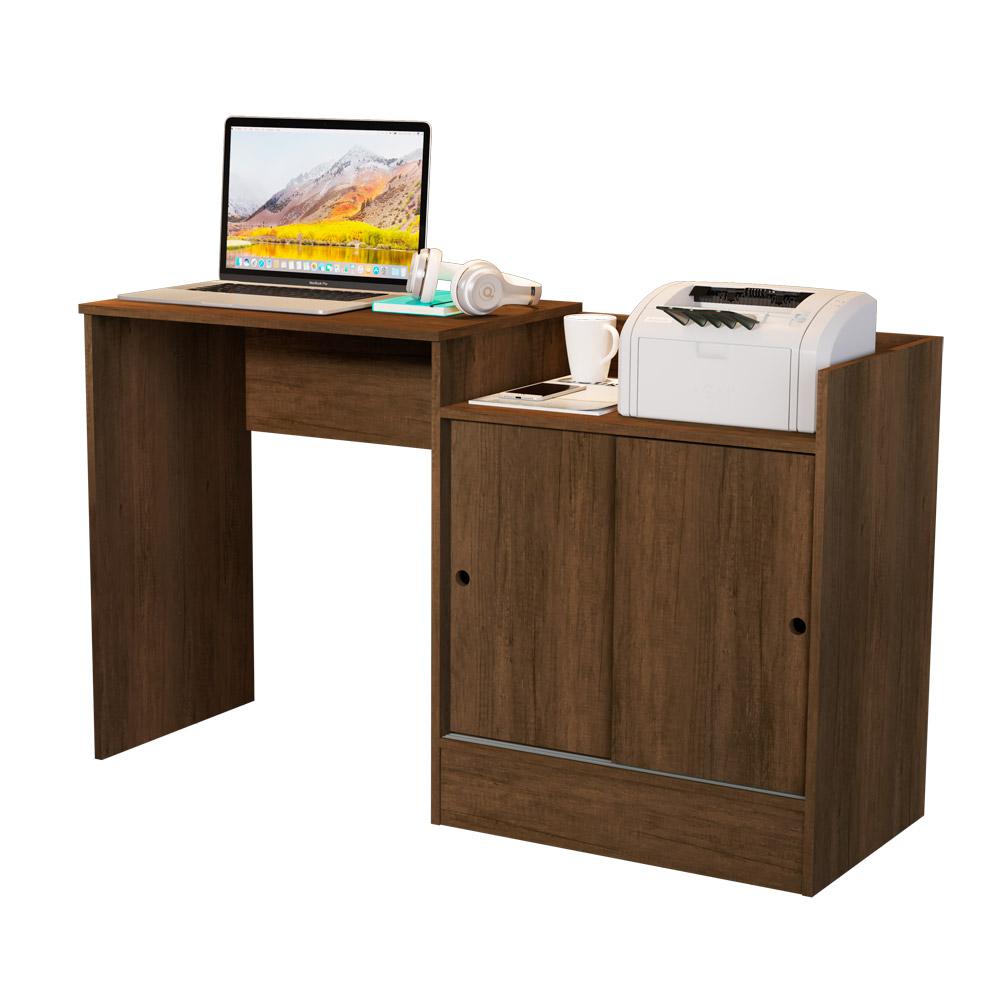 Escrivaninha Quarto/Escritório Jb 6022 C/ 2 Portas de Correr - Canela - Jb Bechara