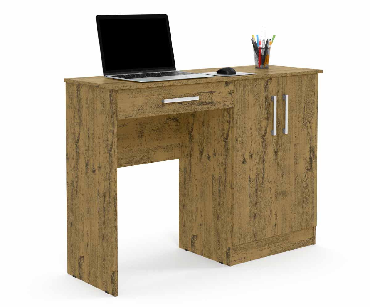 Mesa para Computador Space Imbuia Patrimar Móveis