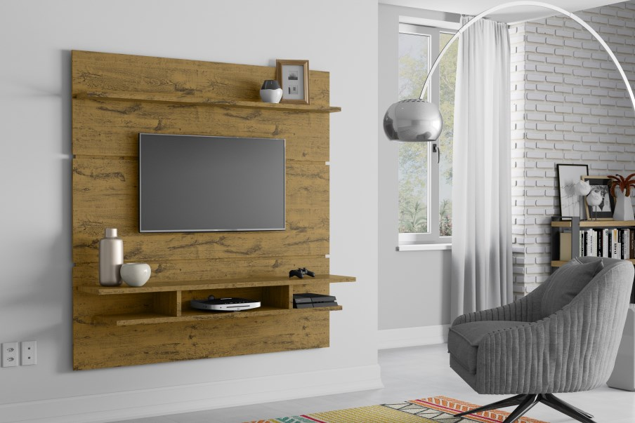 Painel para TV Adryan - Nature - Patrimar Móveis