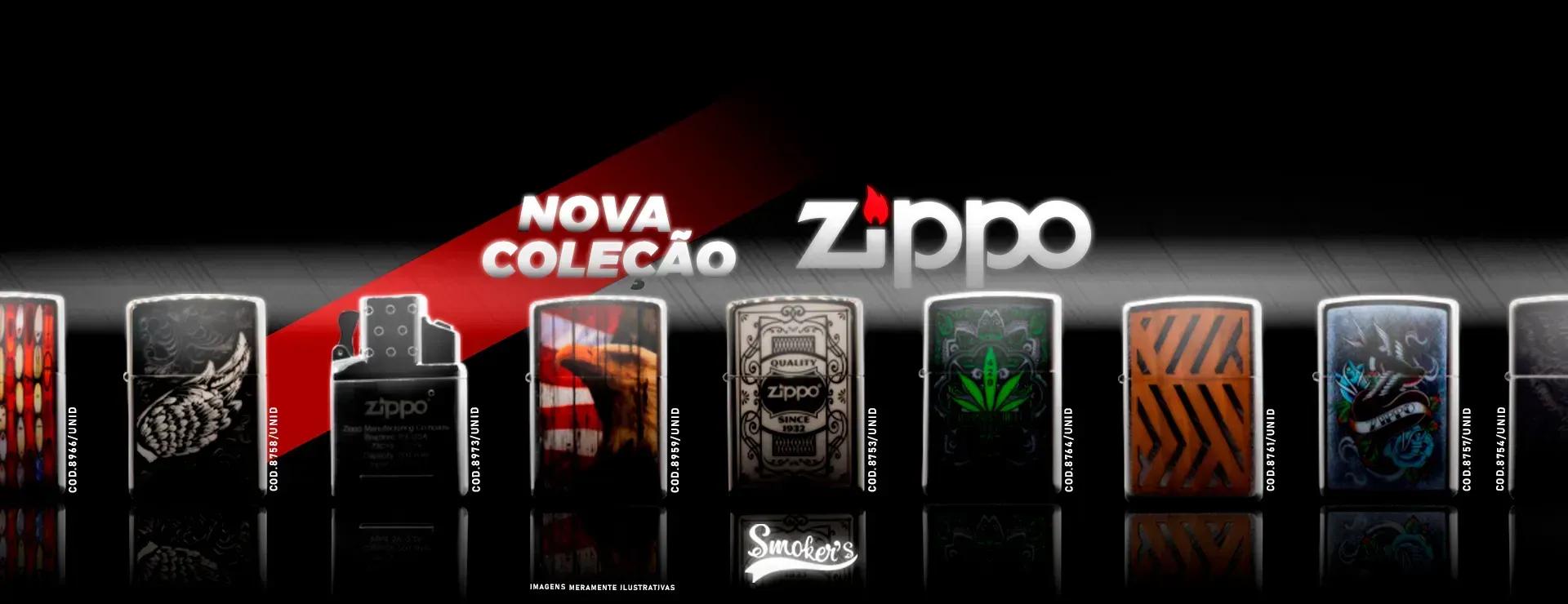 Lançamento nova coleção zippo