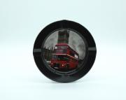 Cinzeiro de metal Redondo London Buses