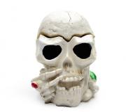 Cinzeiro Decorativo Crânio Caveira em Resina