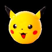 Dichavador de metal Pikachu - Com reservatório embutido