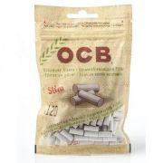 Filtro para Cigarro OCB Orgânico Slim de 6mm (Pacote com 120)