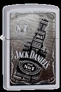 isqueiro Zippo Jack Daniels  Bottle - Prata