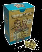 Piteiras Pré-enroladas Lion Rolling Circus - Com 120 Un.