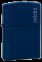 Isqueiro Zippo Classic Logo Navy - Azul