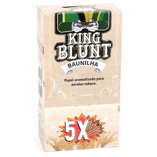 Blunt King Baunilha - Caixa com 25
