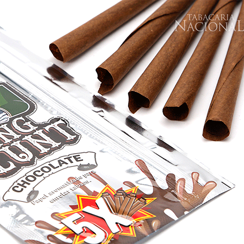 Blunt King Chocolate - Caixa com 25