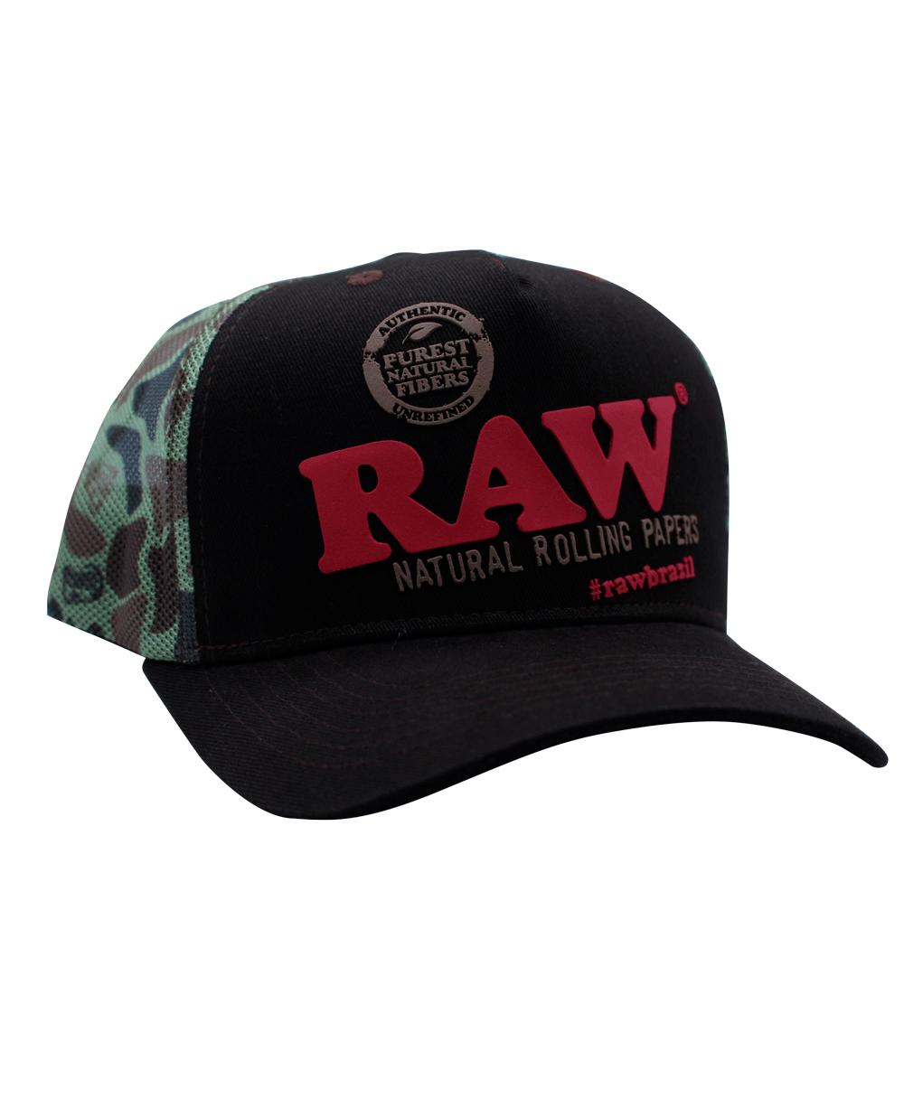 Boné Raw Brow Camuflado
