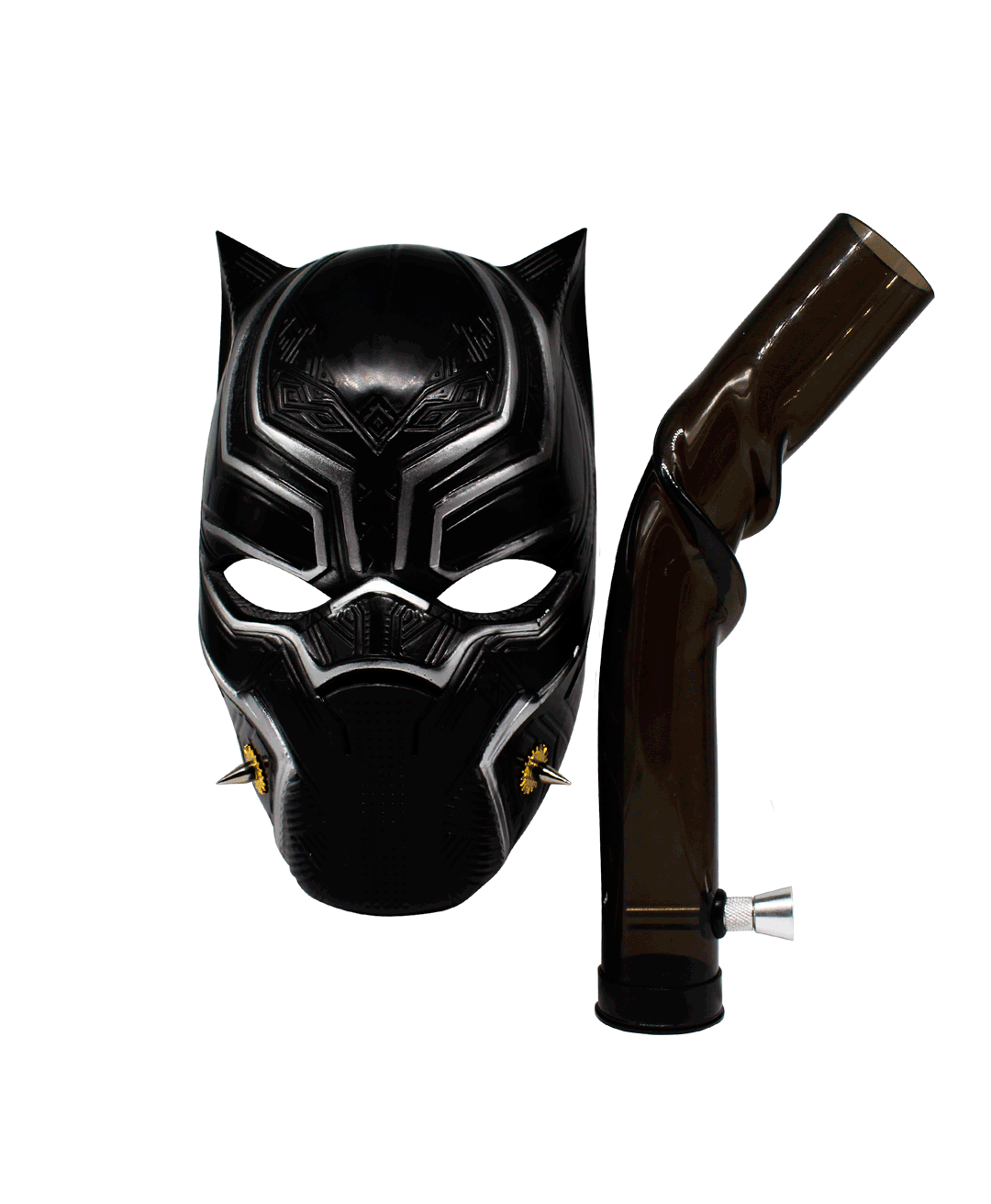 Bong Mascara Black Panther