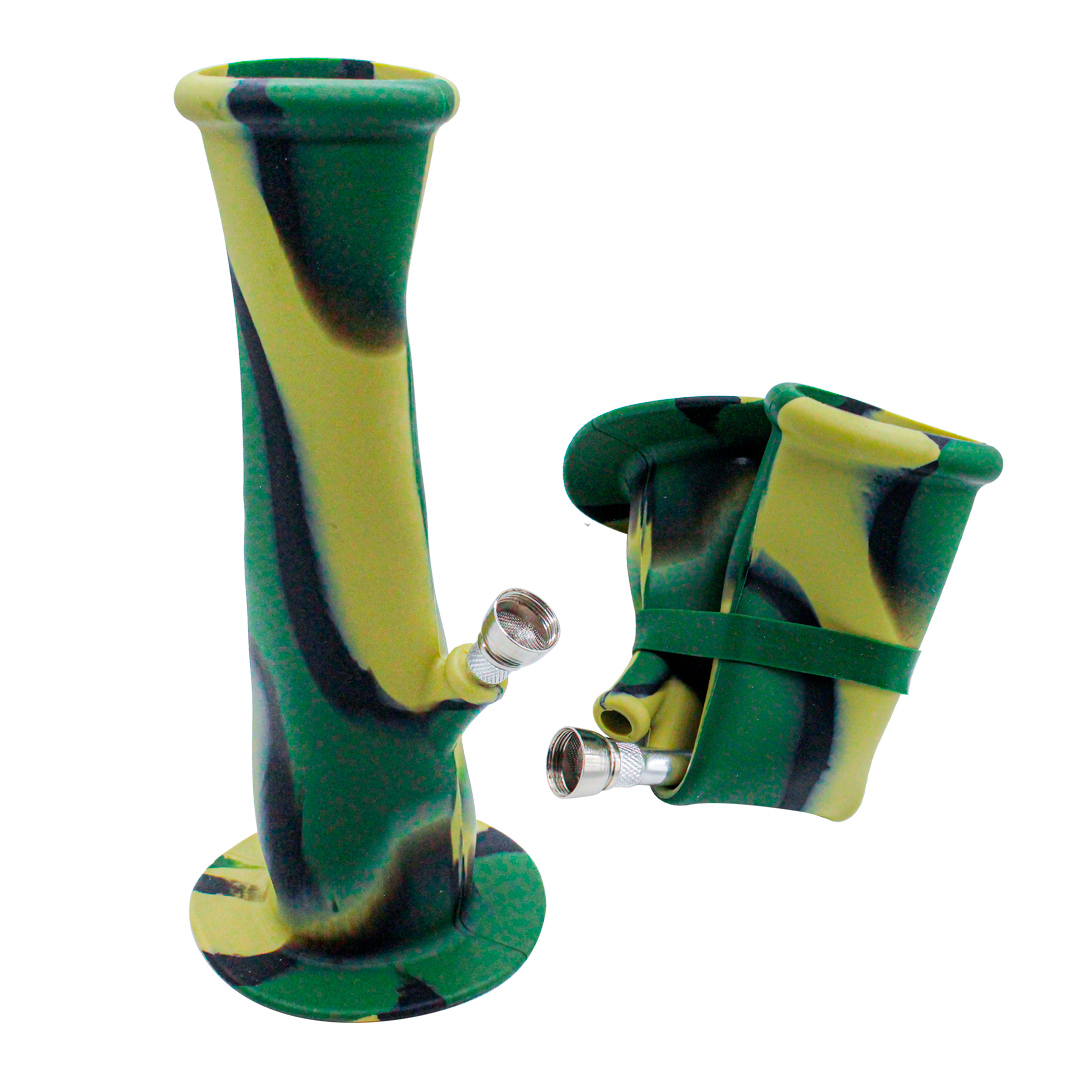 BONG SILICONE 58X215MM SG-003