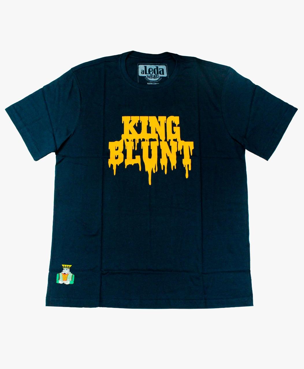 Camiseta Aleda King Blunt - Azul Tamanho P