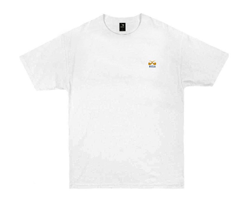 Camiseta Rizla Com Logo Bordado - Branca
