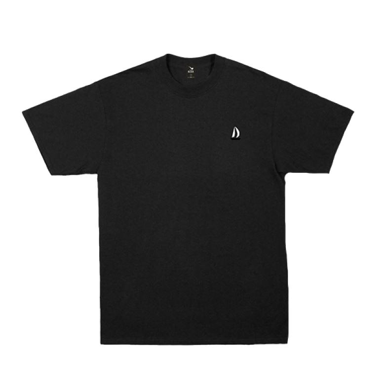 Camiseta Rizla Embroidery - Preta