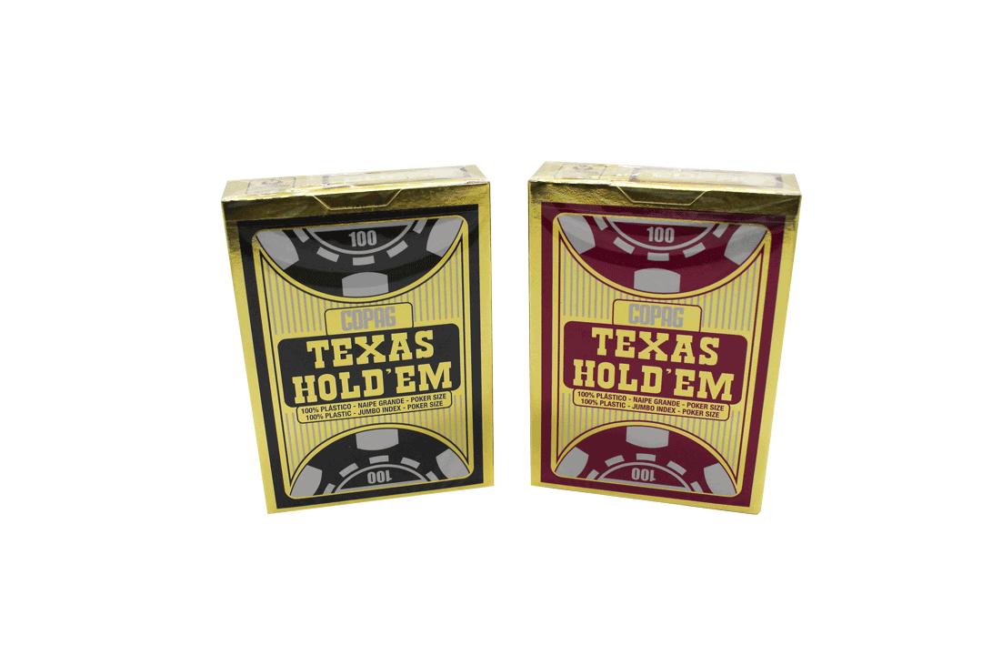 Cartas de Baralho Texas Hold'em
