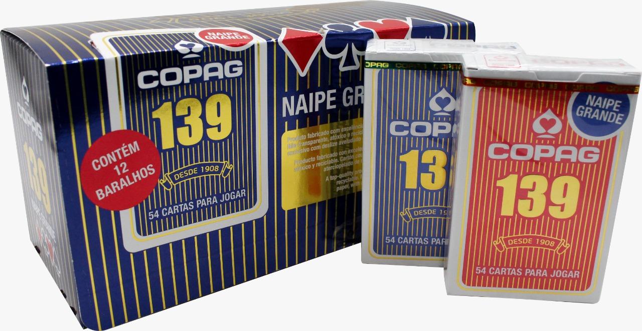 CARTAS P/ JOGAR COPAG 139 NAIPE GRANDE S/M