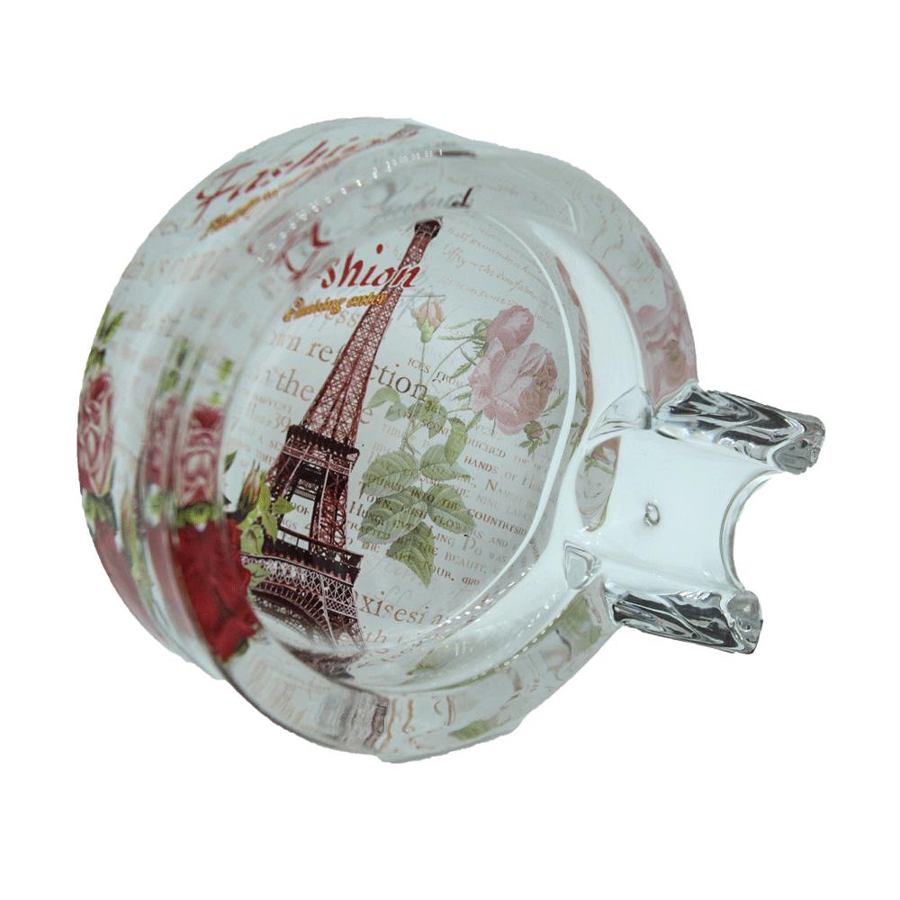 Cinzeiro de vidro  p/charuto - Paris