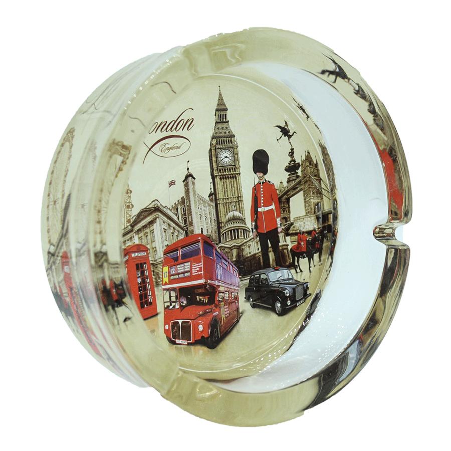 Cinzeiro London 2 de vidro - Grande