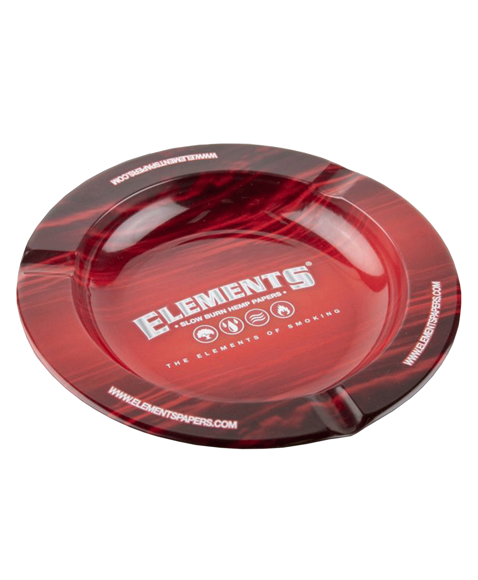 Cinzeiro Metal Element's Red