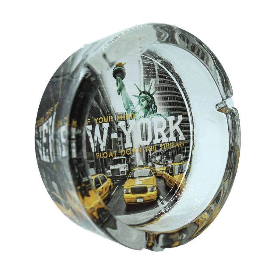 Cinzeiro New York de vidro - Grande