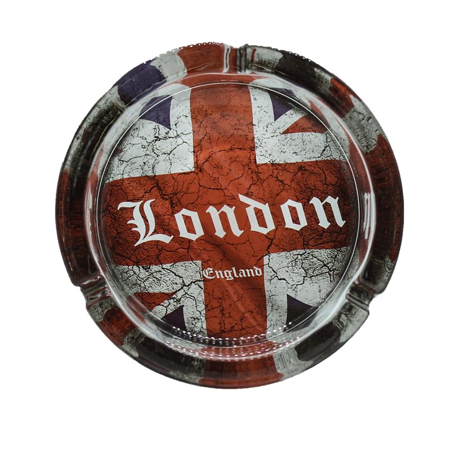 Cinzeiro London de vidro - Grande