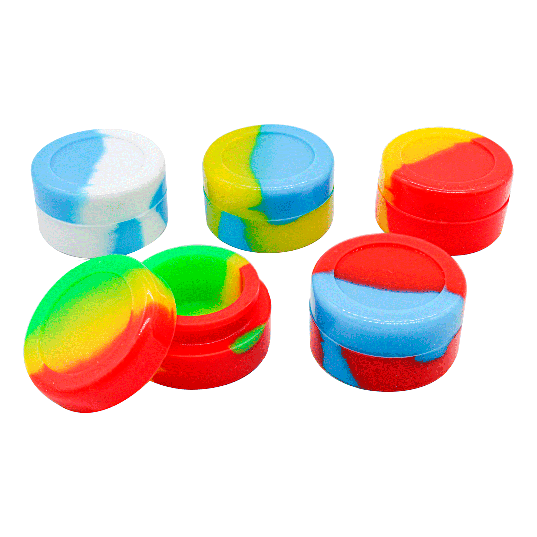 CONTAINER SILICONE REDONDO 5ML YHS-A18