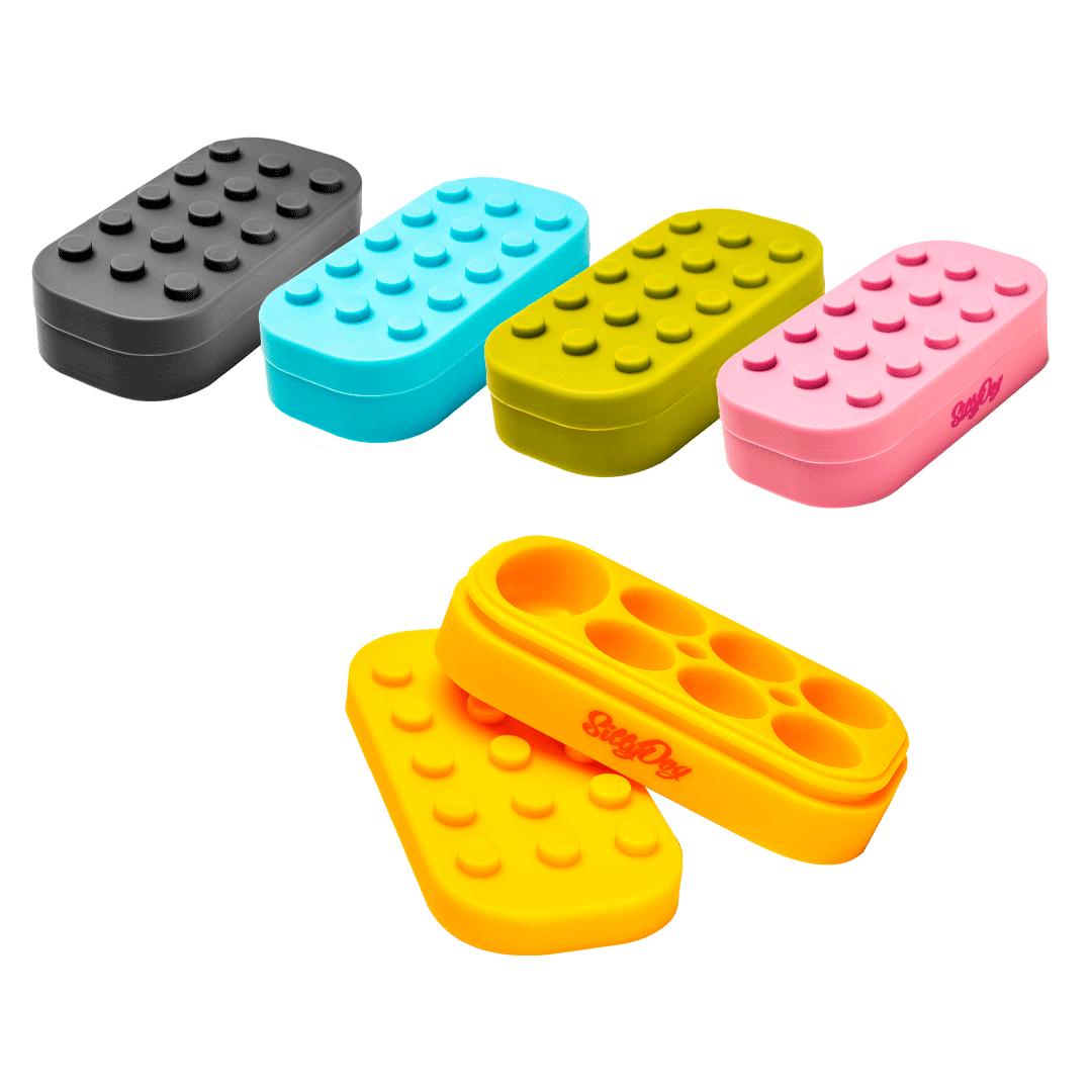 CONTAINER SILICONE SILLYDOG LEGO 34ML SD0017 (SORTIDO)