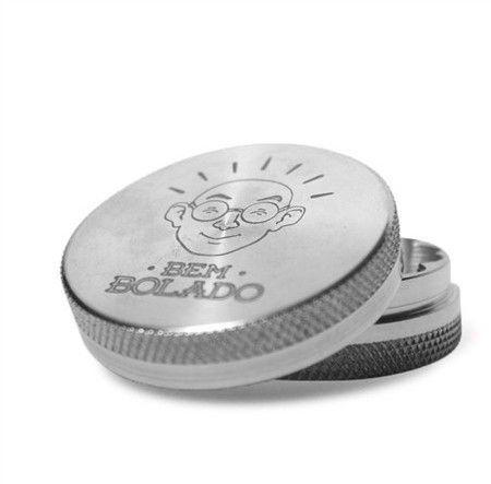 Dichavador de Metal Bem Bolado Premium - 2 Partes