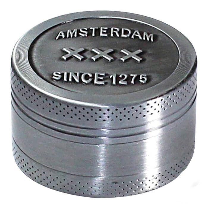 Dichavador de Metal Amsterdam - 3 Partes