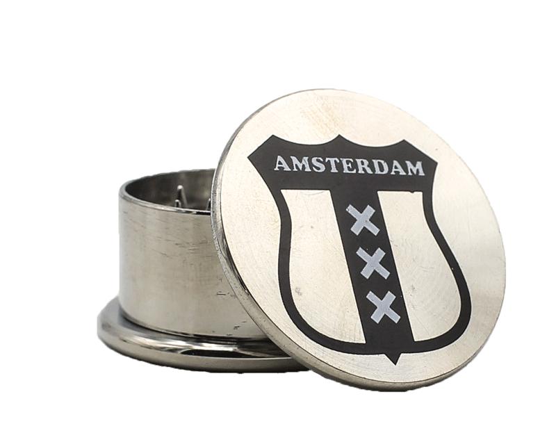 Dichavador de Metal Amsterdam Pq - 3 partes
