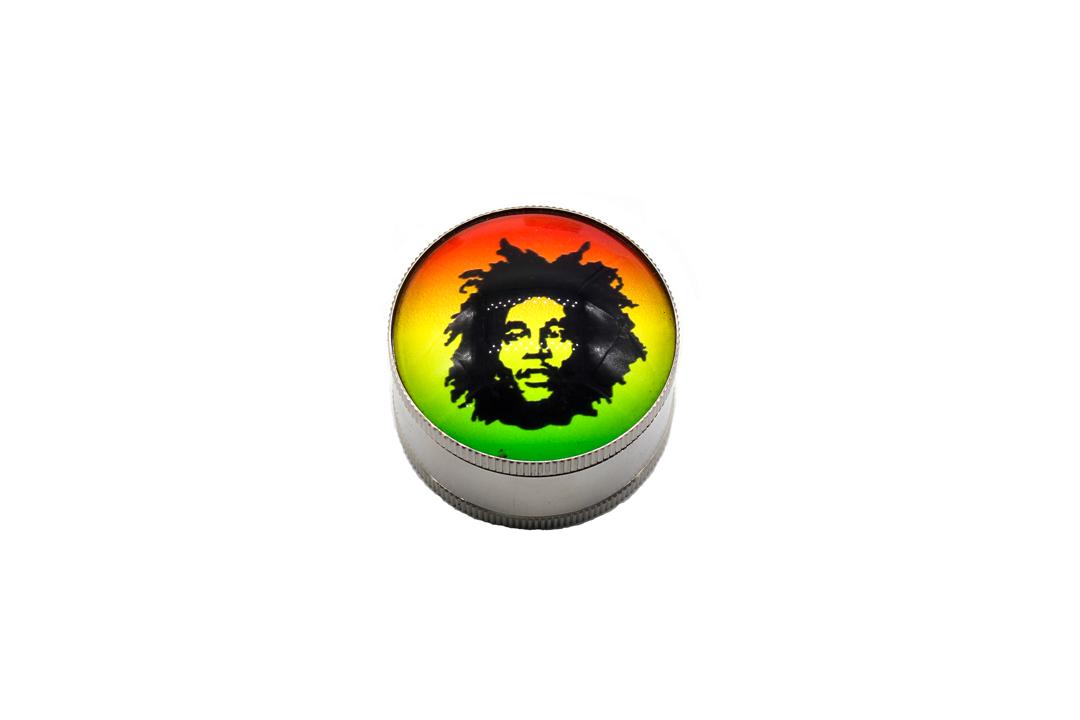 Dichavador de Metal - Bob Marley Foto 3x4 - 3 partes