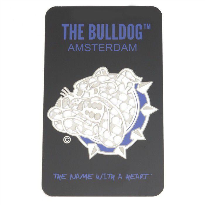 Dichavador de Metal Bulldog Cartão