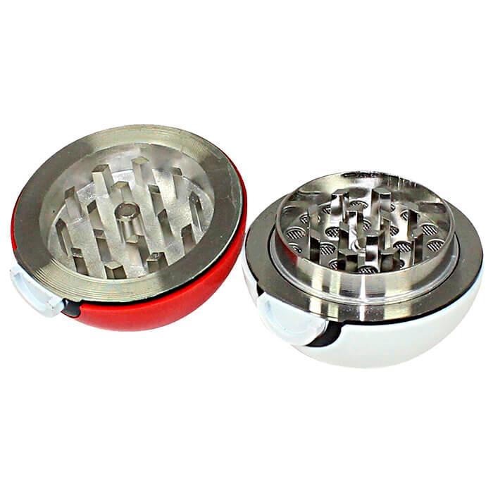 Dichavador de Metal Pokebola - Com reservatório