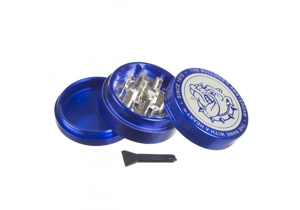 Dichavador de Metal The Bulldog Blue Original - 3 Partes