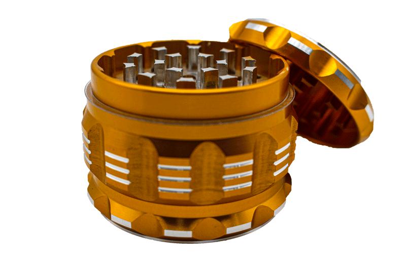 Dichavador Metal Grande - 4 partes