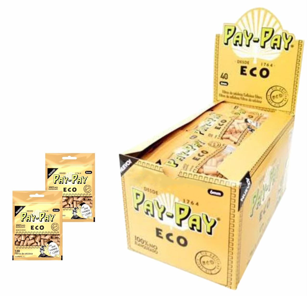 FILTRO ENROLAR PAY-PAY ECO 6MM