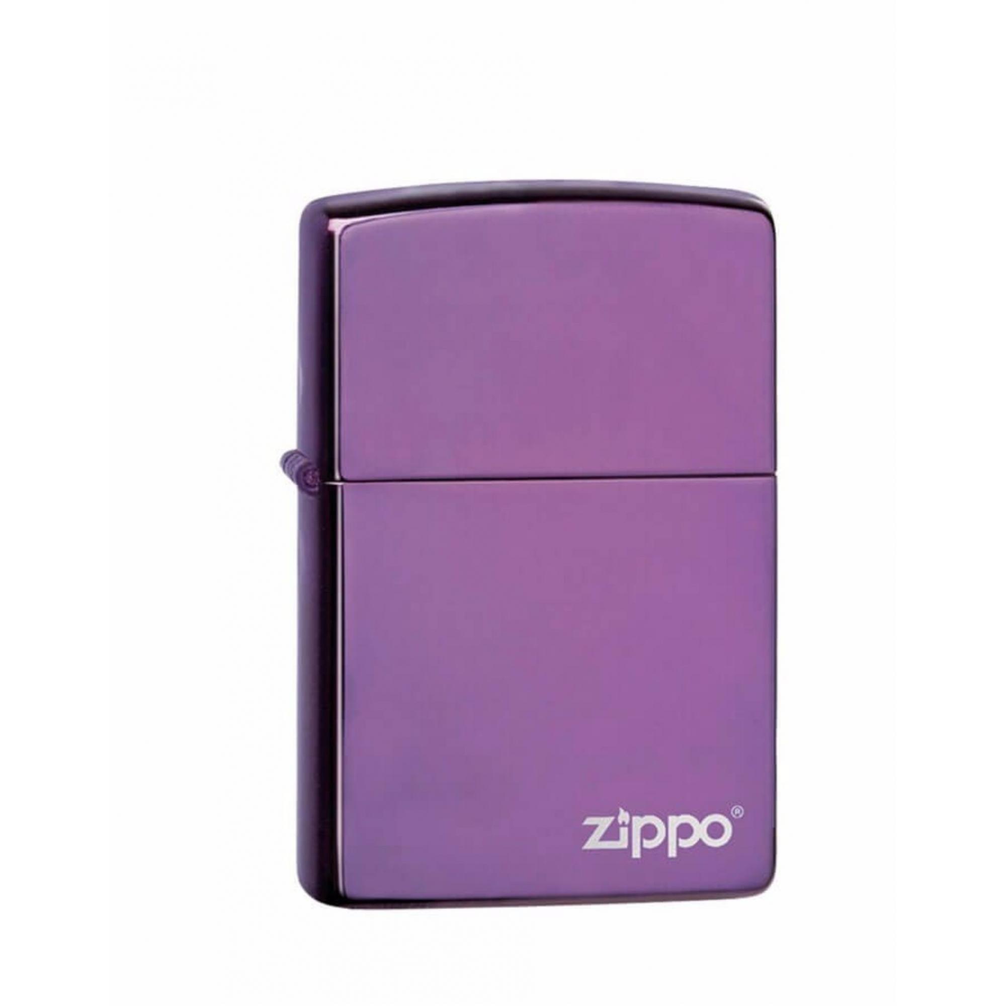 Isqueiro Zippo Roxo Com Logo