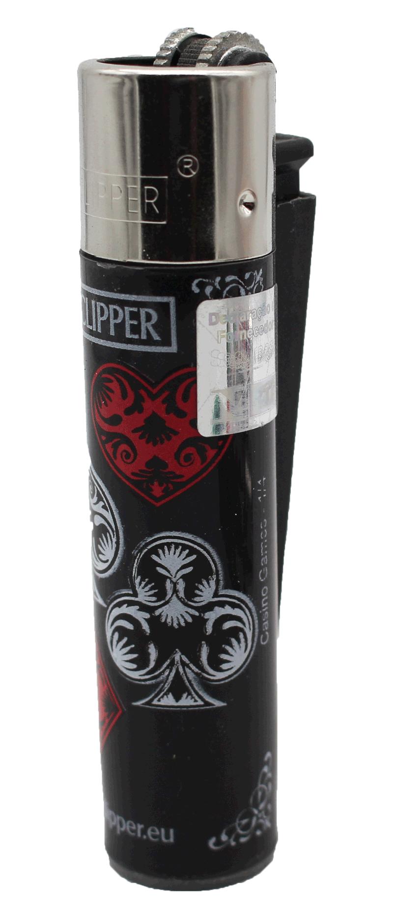 Isqueiro Clipper Maxi Collect Cassino