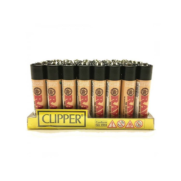 Isqueiro Clipper - RAW- Display com 24