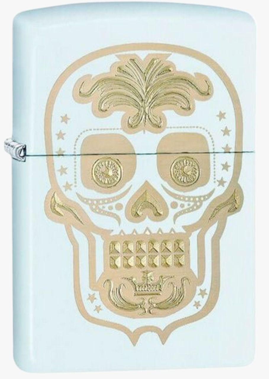 Isqueiro Mexican Skull Drill