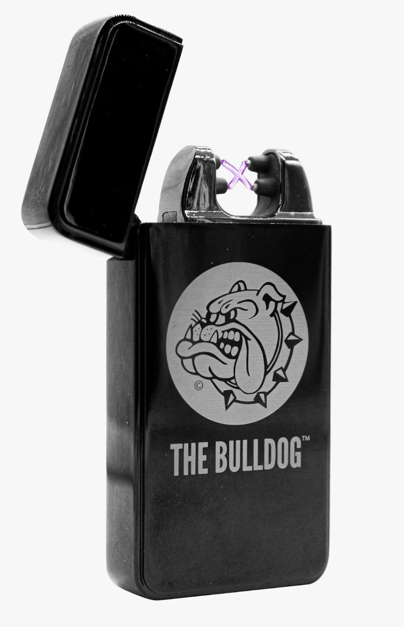 Isqueiro Plasma Ligheter the Bulldog Titanium