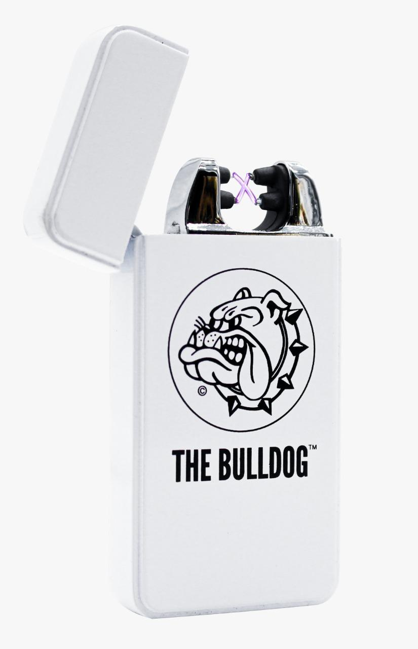 Isqueiro Plasma Ligheter the Bulldog White