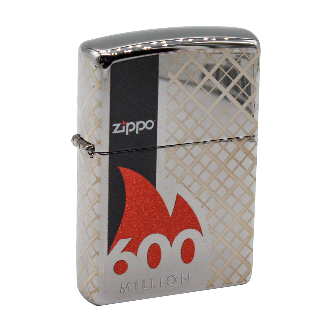 ISQUEIRO ZIPPO 600TH MILLION