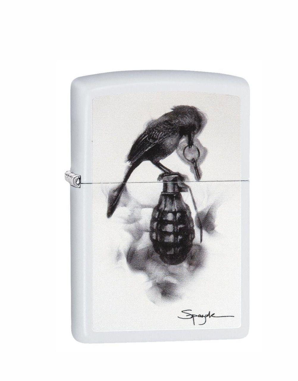 Isqueiro Zippo Bird off Grenade